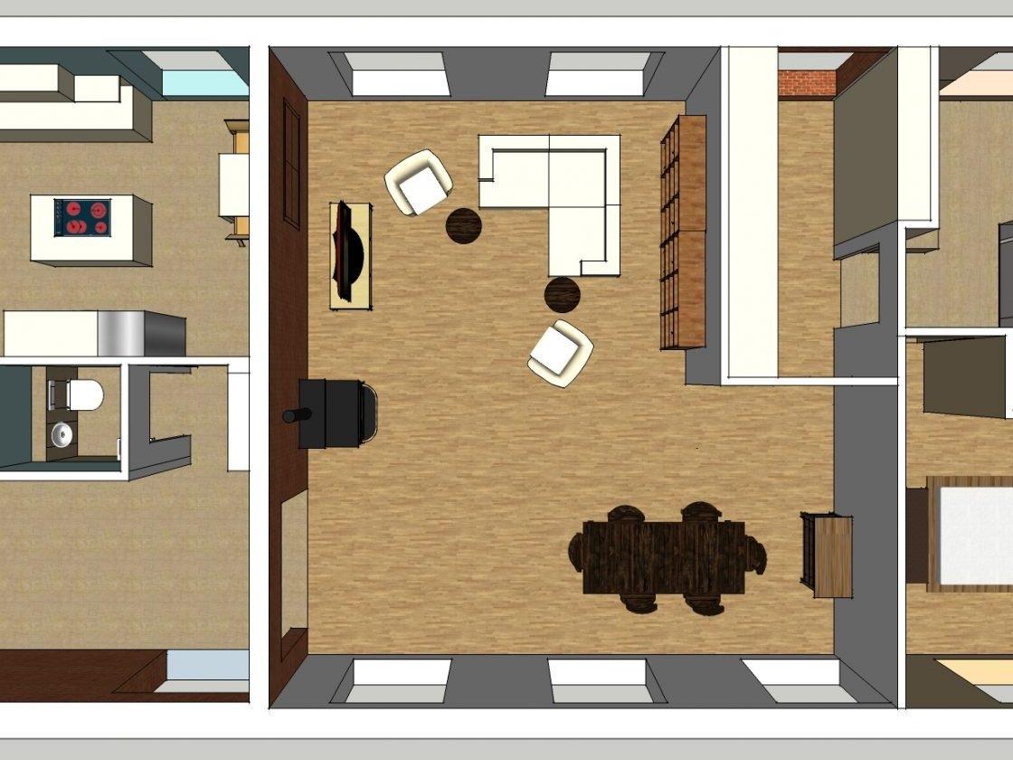 Nutzungskonzepte ehemaliges Jugendheim - Visualisierung Variante 1
