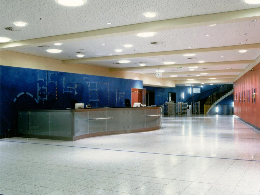 Generalmodernisierung Agrippabad Köln - Foyer