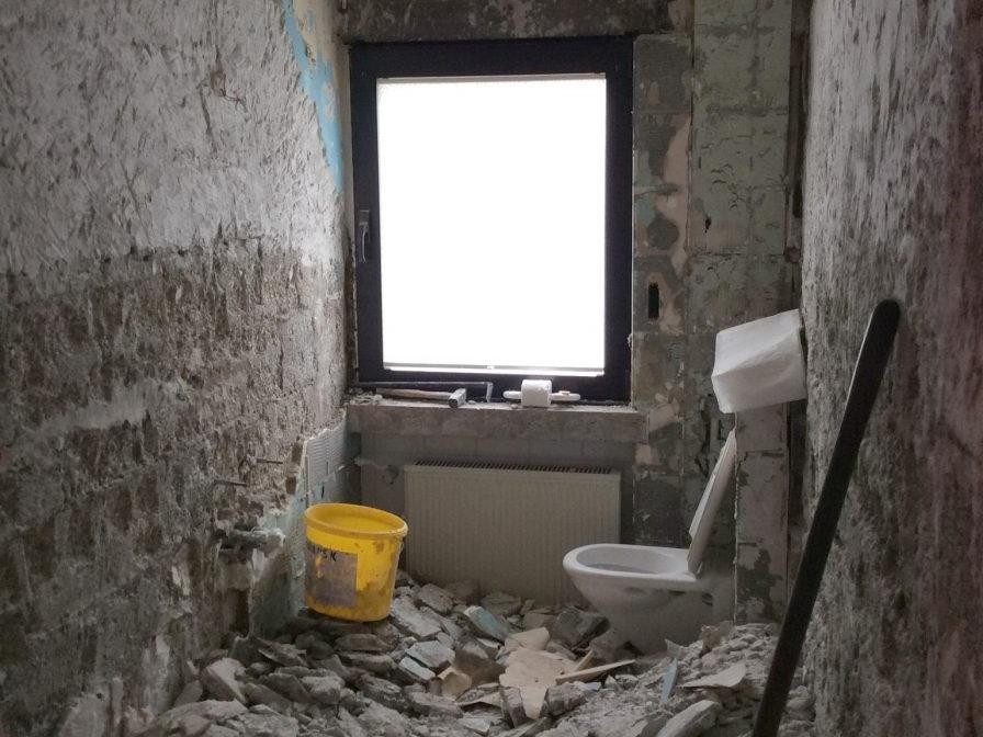 Kersanierung Duschbad - Abriss