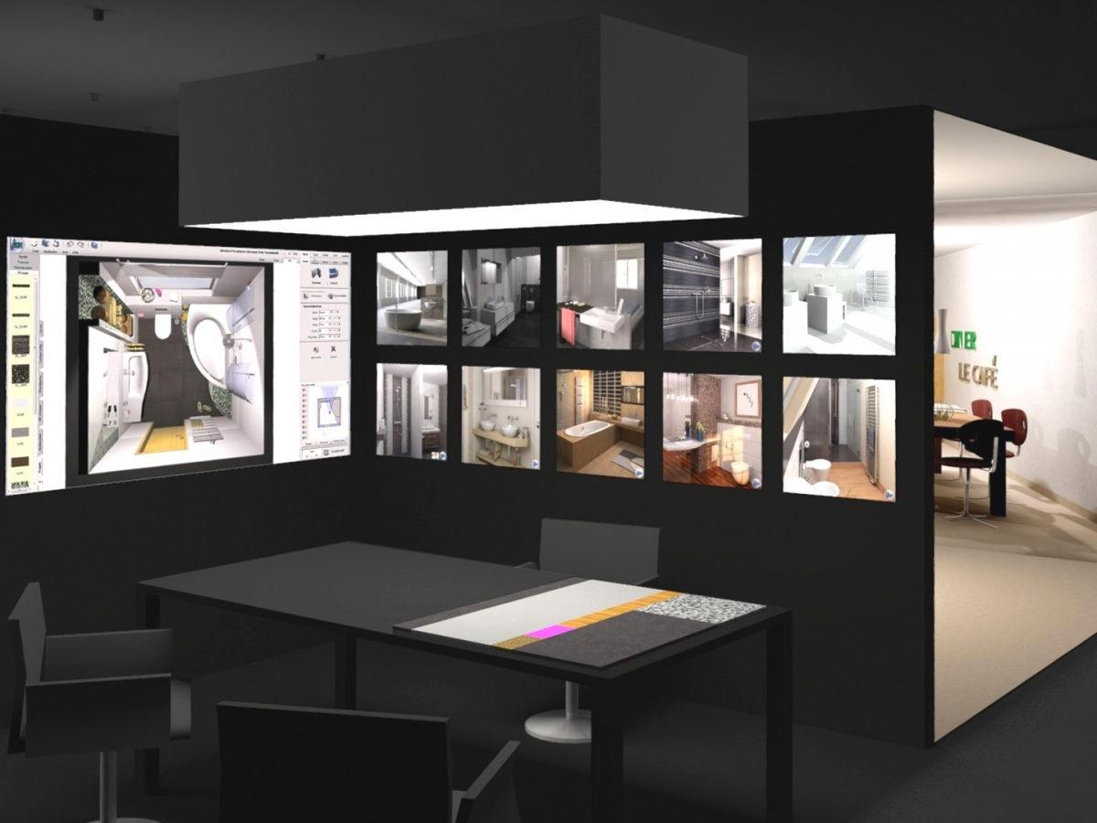 Shopkonzept Ausstellung 2020 - Visualisierung Beratungsplatz