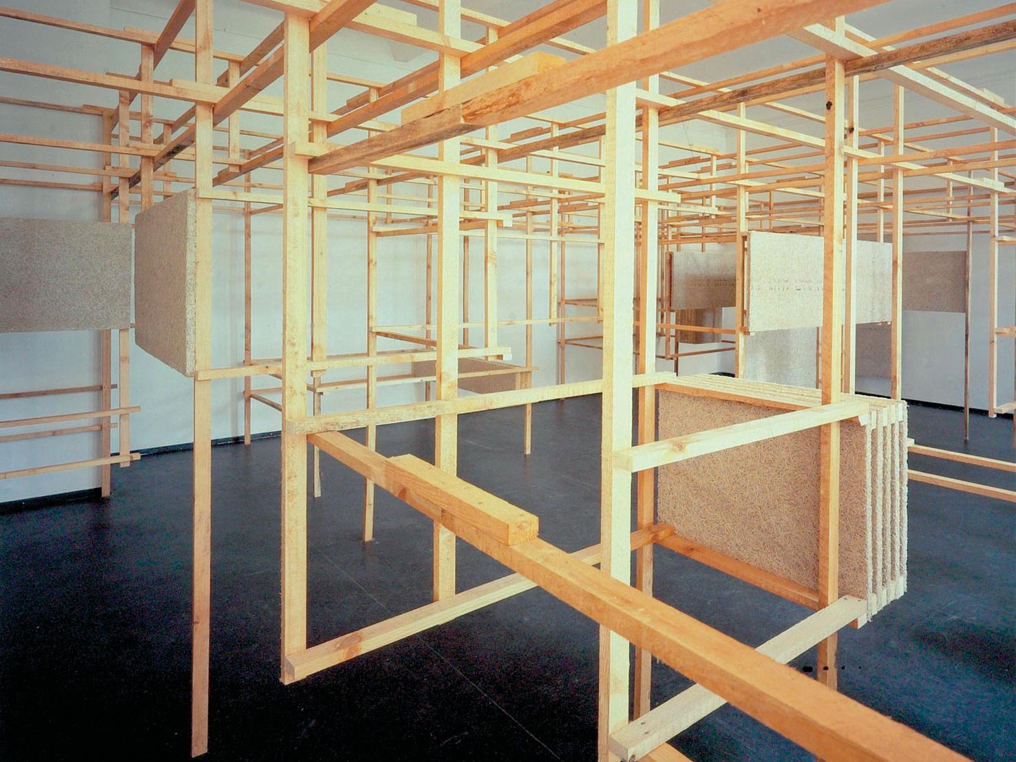 Kunstprojekt Büroauflösung mit Franka Hörnschemeyer - Installation
