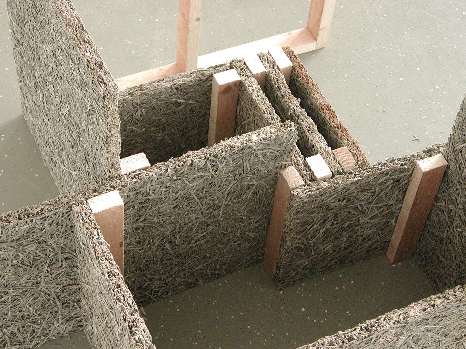 Kunstprojekt Büroauflösung mit Franka Hörnschemeyer - Materialmodell