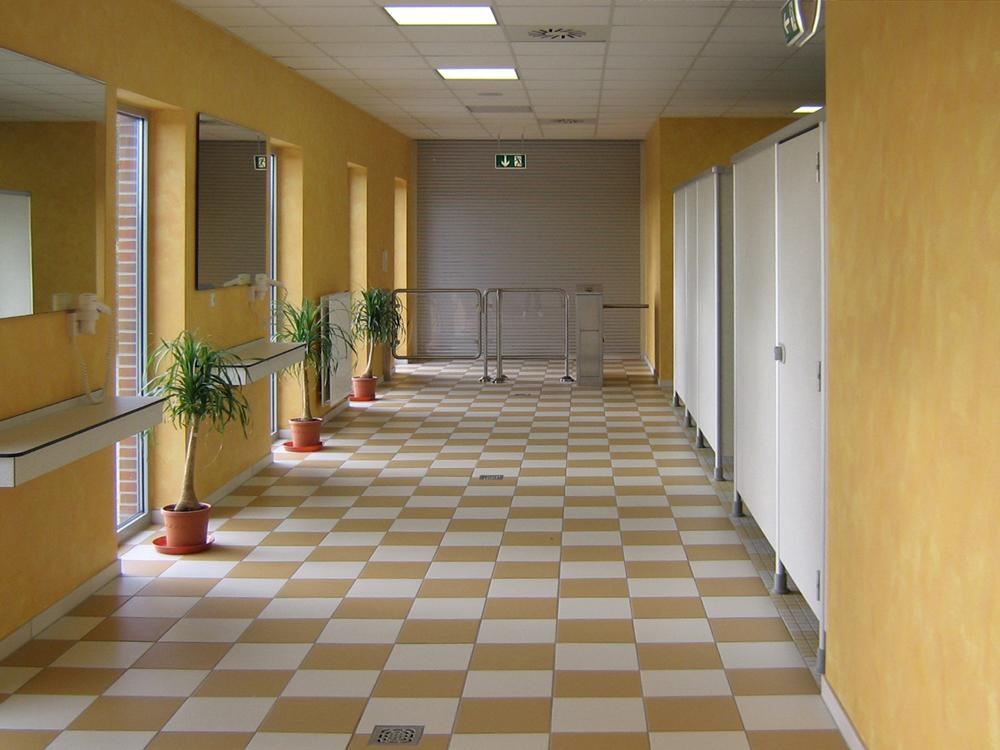 Mölenland-Bad Bunde - Farbkonzept Fönplätze