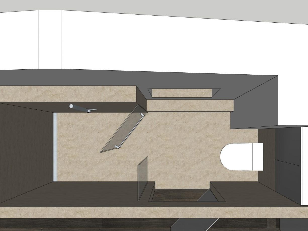 Bad-Variationen unterm Dach - Bad von oben, Variante 6