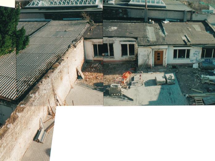 Wohnhaus mit Büro / Atelier mit Gästewohnung - Gesamtanlage vorher