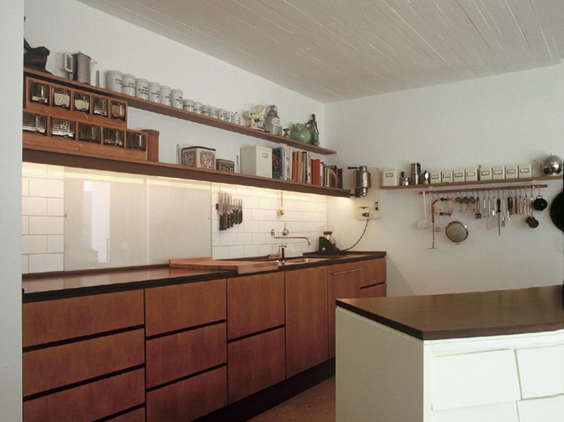 Wohnhaus mit Büro / Atelier mit Gästewohnung - Detail Küche