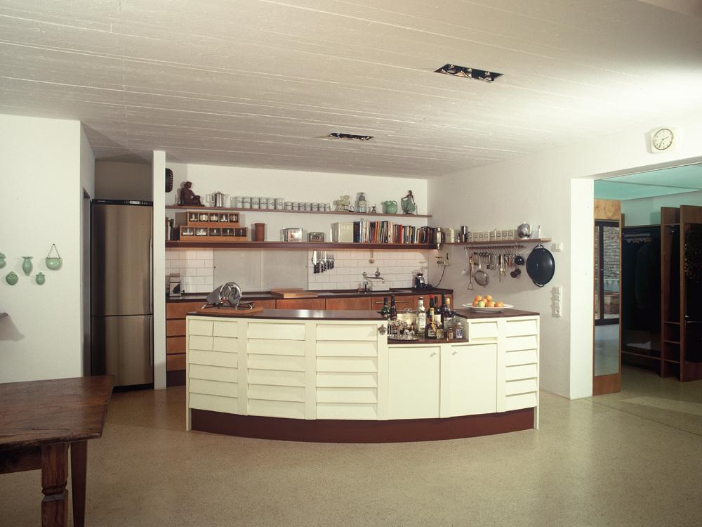Wohnhaus mit Büro / Atelier mit Gästewohnung - Küche