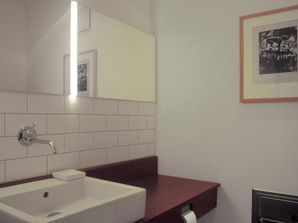 Wohnhaus mit Büro / Atelier mit Gästewohnung - Gäste-WC