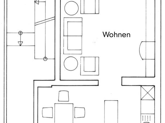 Nutzungskonzepte Wohnhaus - EG, Konzept 2