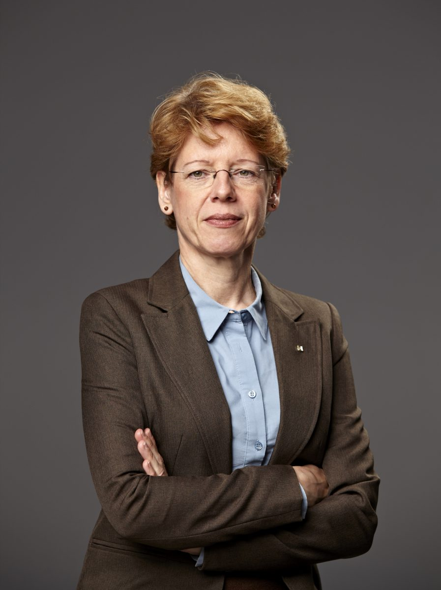 Portrait Birgit Hansen - 2, Farbe