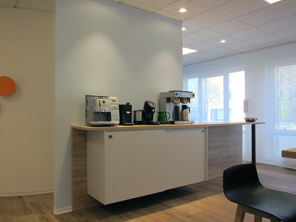 Sozial- und Seminarraum - Kaffeestation