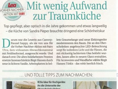 Küchen Make-Over - Artikel