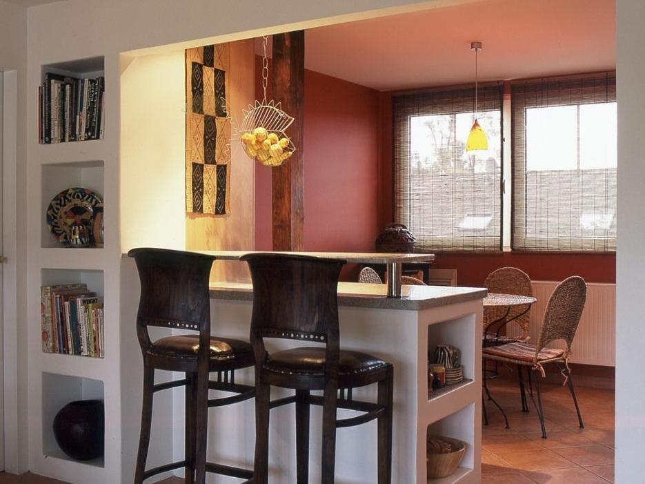 Küche unterm Dach