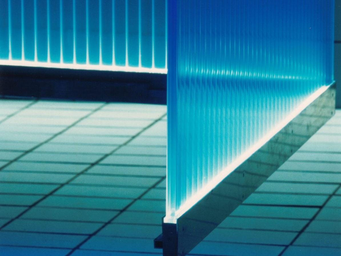 Lichtschwimmerbecken im Agrippabad - Detail