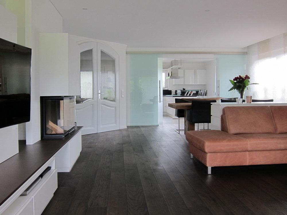 Modernisierung Lebensraum - Küche geöffnet