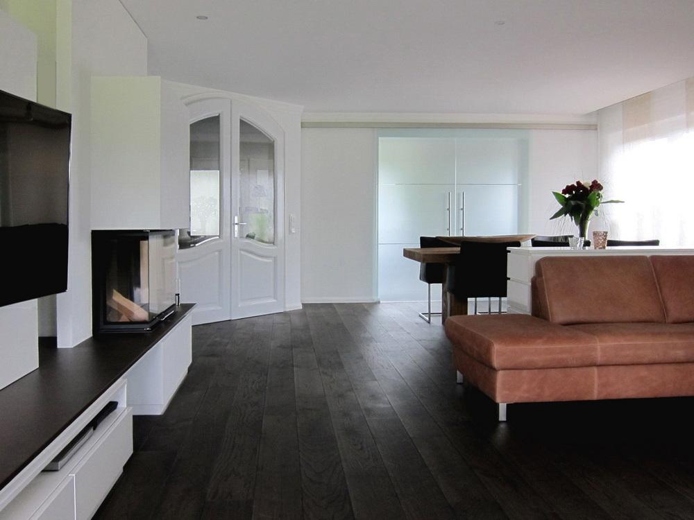 Modernisierung Lebensraum - Küche geschlossen