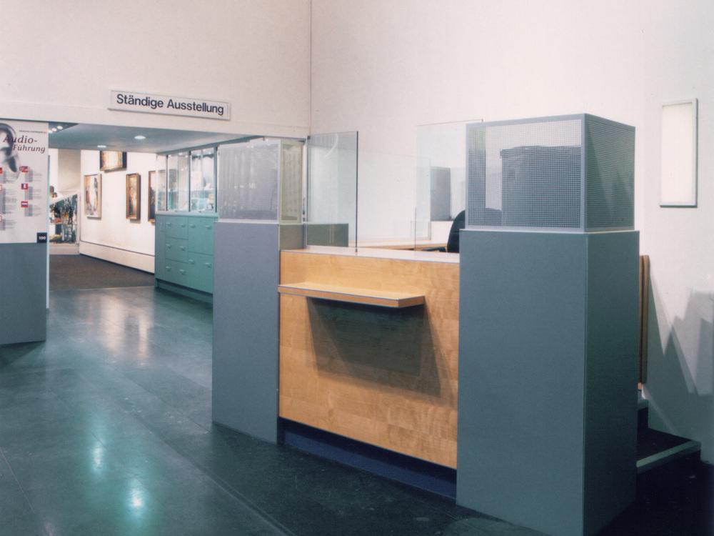 Foyer Kölnisches Stadtmuseum - Kasse