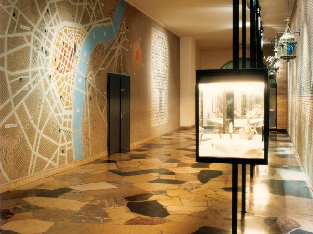 Museum in der Synagoge Köln - Lichtplanung