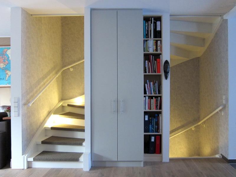 Verwandlung einer Treppe - Einbauten im EG