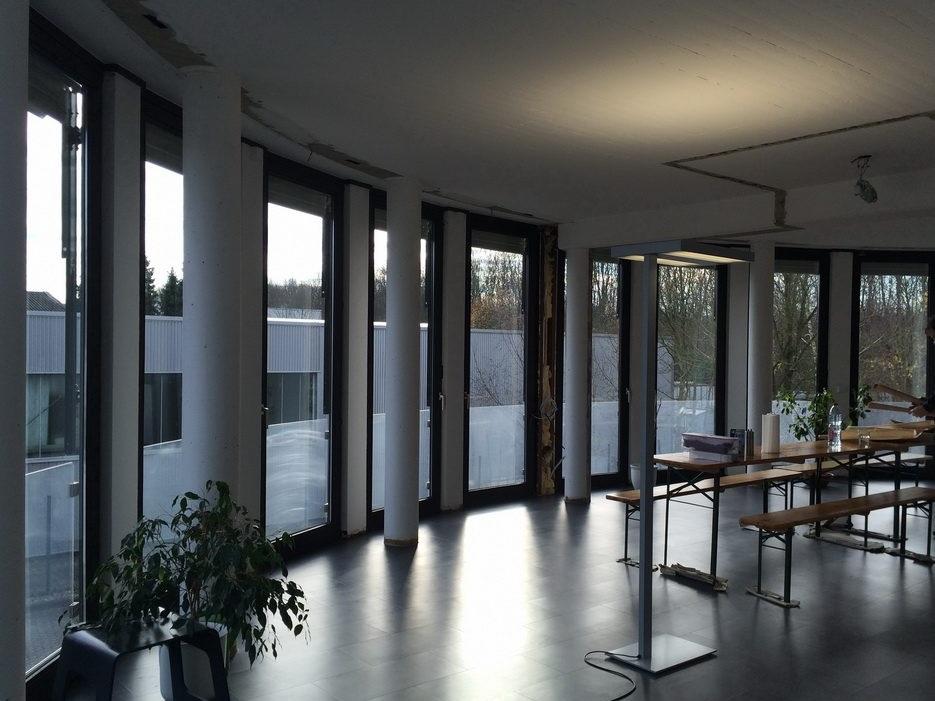 Pausen- und Präsentationsraum - Vorher
