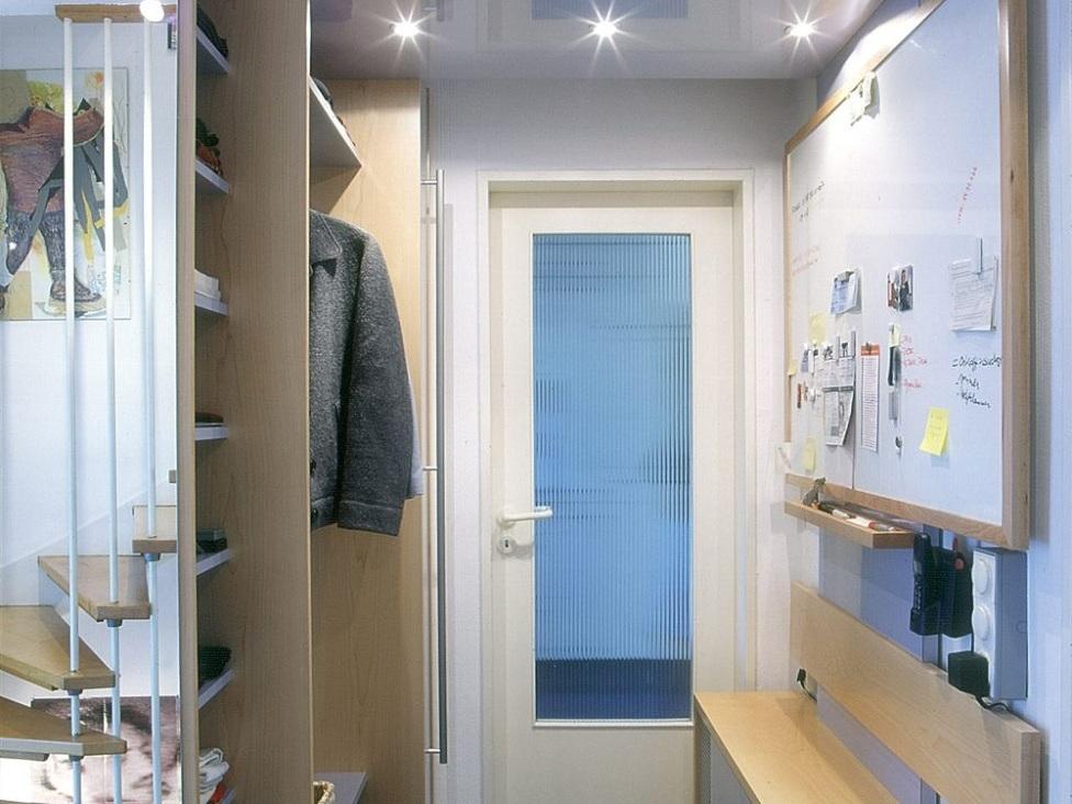 Multifunktionale Garderobe mit Sitzbank