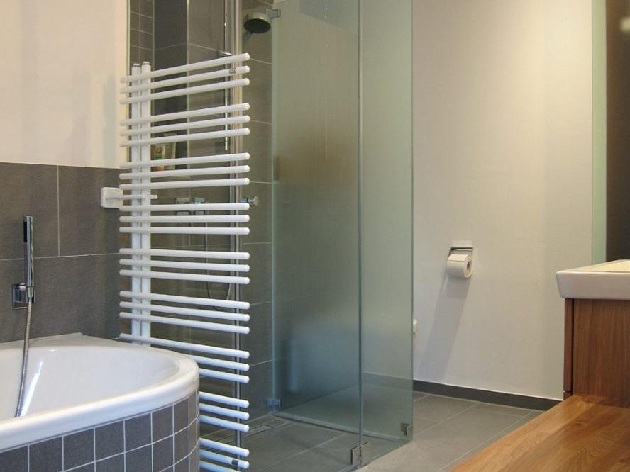 Komfortbad - Dusche und WC