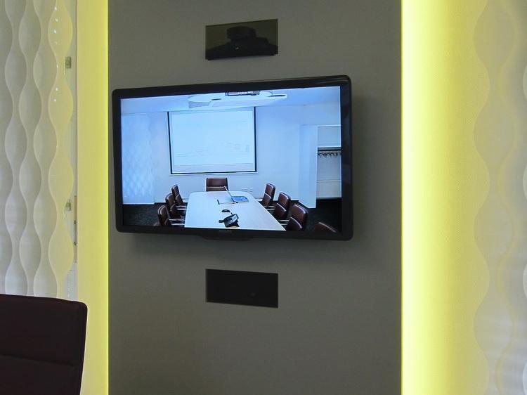 Konferenzraum - Monitor-Paneel
