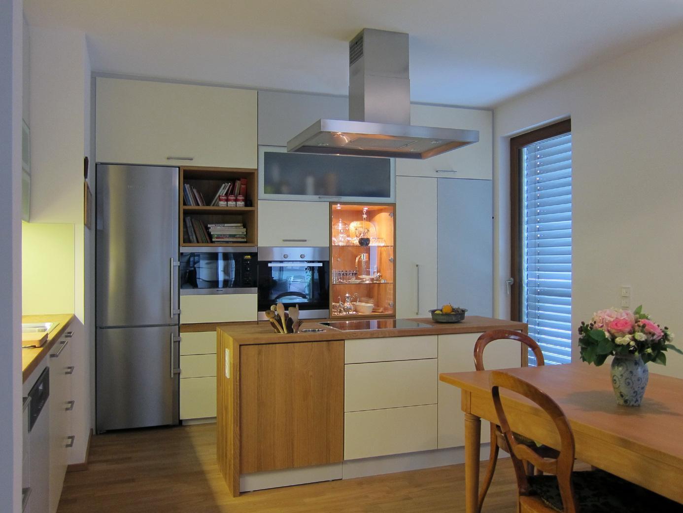 Wohn-Küche - Kochblock