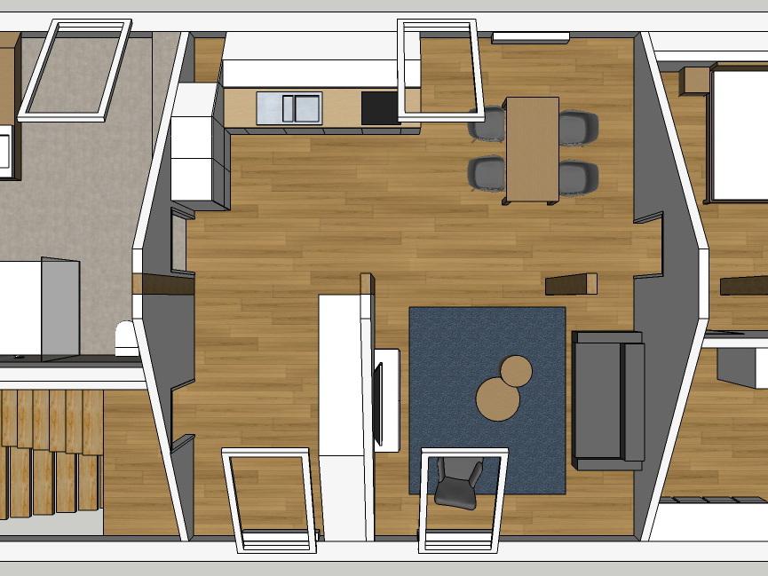 Ehemaliges Jugendheim - Dachausbau - Variante 2