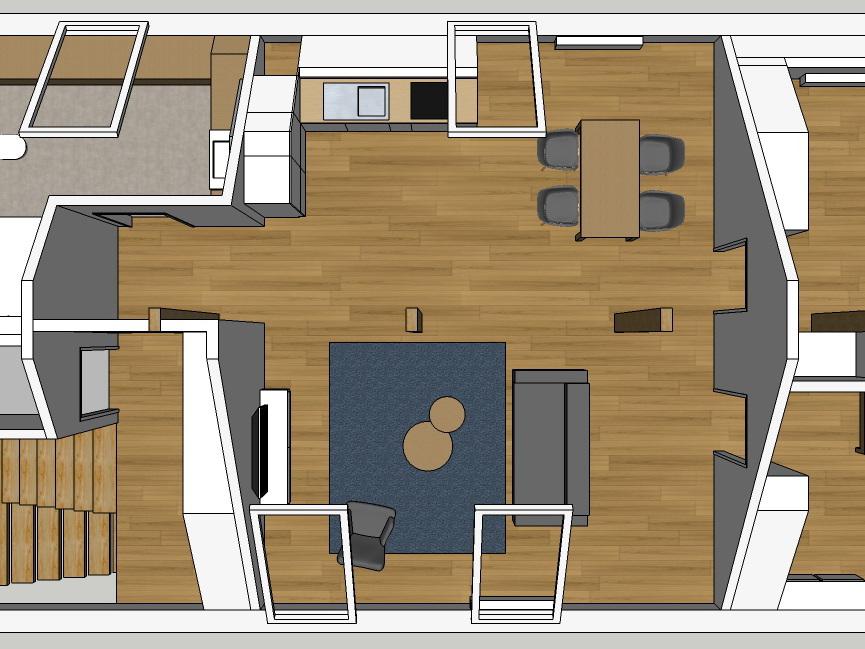 Ehemaliges Jugendheim - Dachausbau - Variante 4