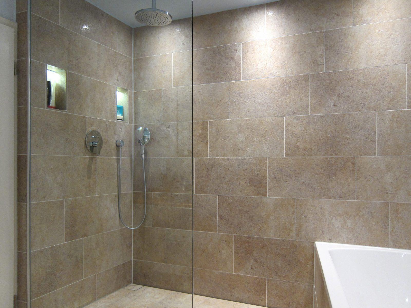 Unsichtbare Technik - Dusche