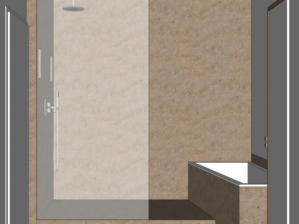 Unsichtbare Technik - Visualisierung Dusche