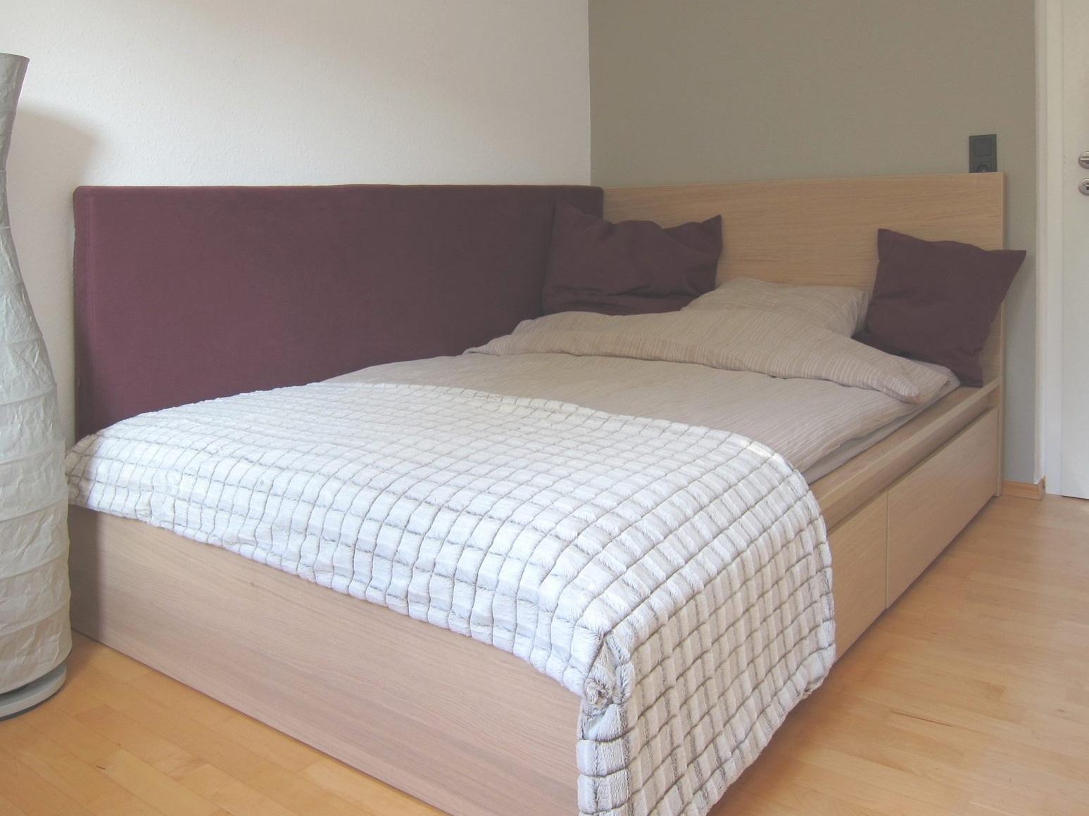 Gästezimmer auf Zeit - Bett
