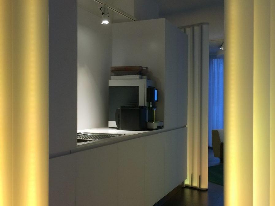 Pausen- und Präsentationsraum - Küche