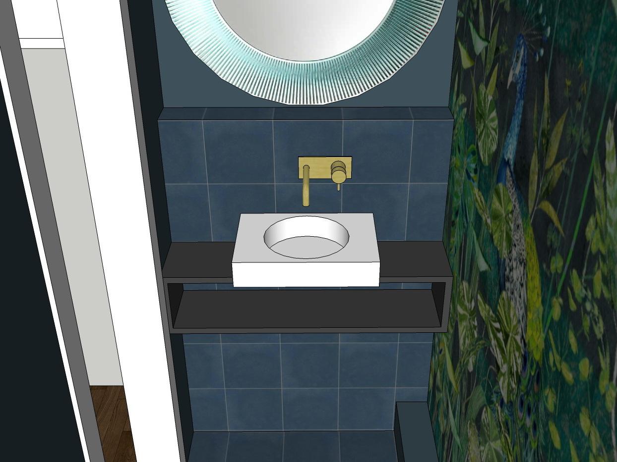 Stilwelten für Gäste-WC - Variante 3