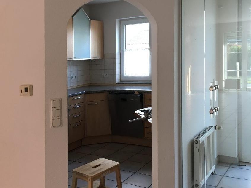 Eine Küche öffnet sich - Küche vorher