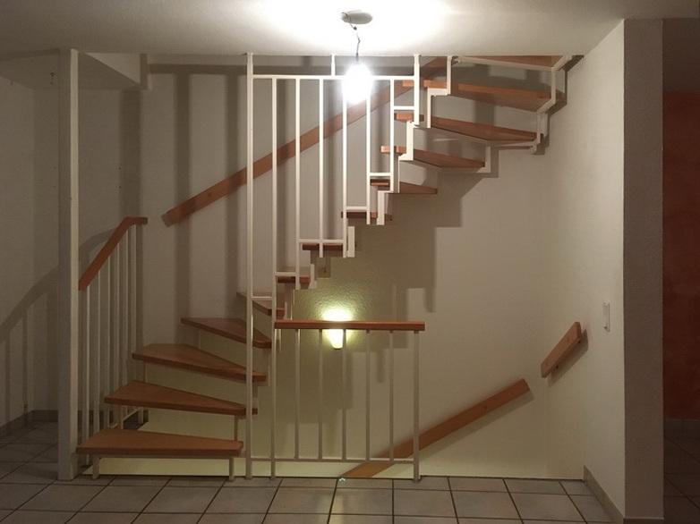 Eine Treppe verschwindet - Treppe vorher im EG