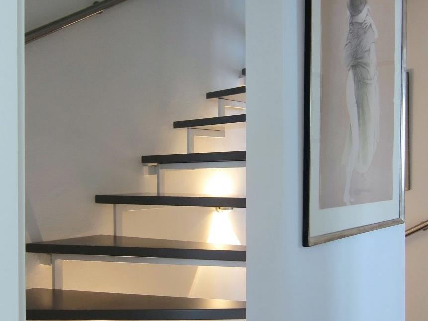 Eine Treppe verschwindet - Obergeschoss