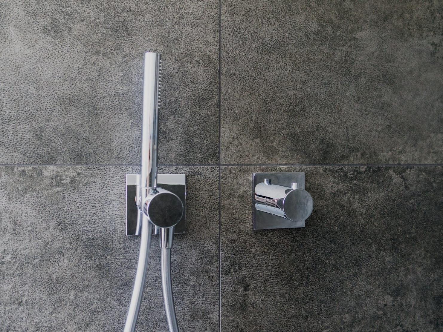 Klare Trennung - Detail Dusche