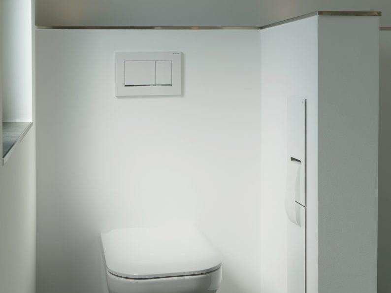 Klare Trennung - Detail WC